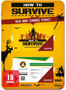 How to Survive - Das BBQ-Zombie-Paket (Code in a Box)