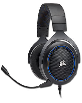 HS50 Stereo Gaming Headset -Blue- (Corsair)