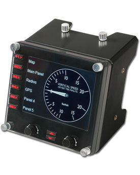 Flight Instrument Panel (Logitech)