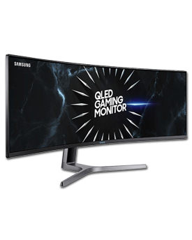 QLED Curved Gaming Monitor C49RG90 (Samsung)