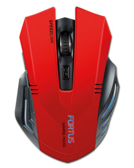 Mouse Fortus -Red/Black- (Speed Link)