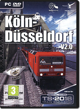 Train Simulator 2016 Add-on: Köln-Düsseldorf