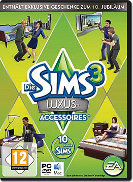 Die Sims 3 Add-on: Luxus Accessoires - PC Games - World of Games
