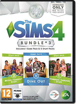 Die Sims 4: Bundle 3 (Code in a Box)