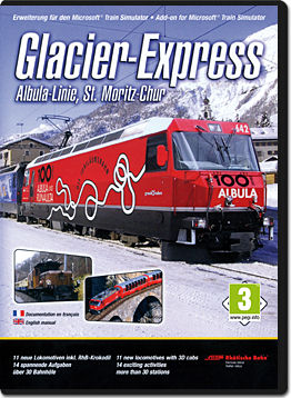 Microsoft Train Simulator Add-on: Glacier-Express