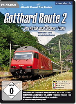 Microsoft Train Simulator Add-on: Gotthard Route 2