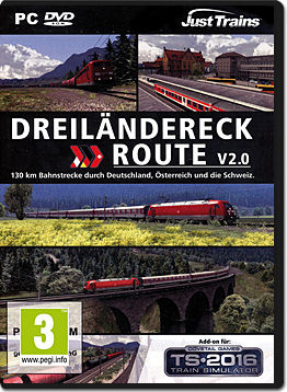 Train Simulator 2016 Add-on: Dreiländereck Route V2.0