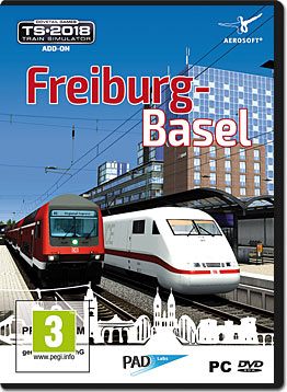 Train Simulator 2018: Freiburg-Basel