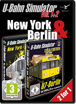 World of Subways Vol. 1 & 2 Bundle - New York - The Path & U7-Berlin