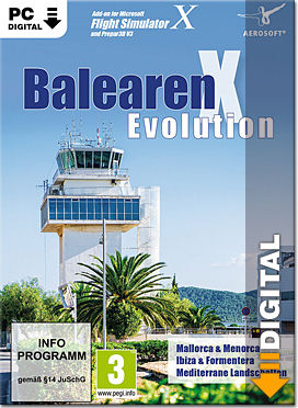 Flight Simulator X: Balearen X Evolution