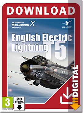 Flight Simulator X: English Electric Lightning T5