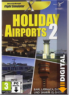 Flight Simulator X: Holiday Airports 2