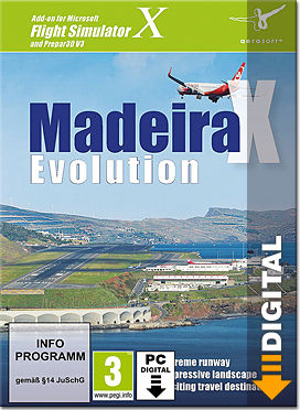 Flight Simulator X: Madeira X Evolution