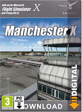 Flight Simulator X: Manchester X