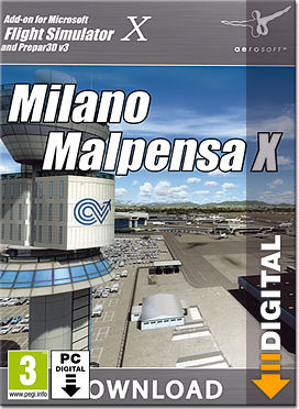 Flight Simulator X: Milano Malpensa X