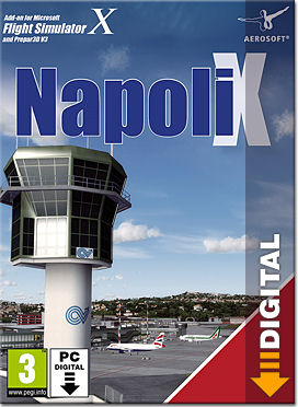 Flight Simulator X: Napoli X