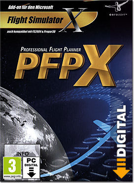 Flight Simulator X: PFPX - Professional Flight Planner X