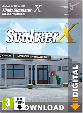 Flight Simulator X: Svolvaer X