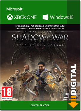 Middle-earth: Shadow of War - DLC 4: Desolation of Mordor (XPA Version)
