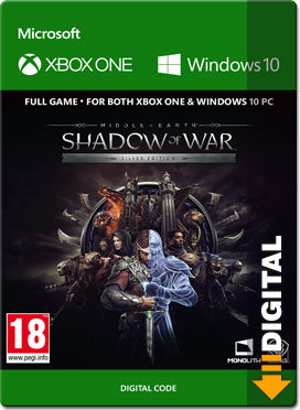 Middle-earth: Shadow of War - Silver Edition (XPA Version)