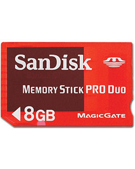 Memory Stick Pro Duo Gaming 8.0 GB (SanDisk)