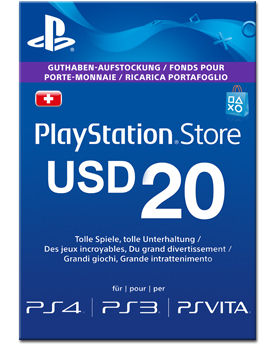 Playstation Network Card US$ 20.-- -FÜR US STORE- (Sony)