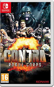 Contra: Rogue Corps