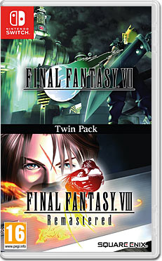Final Fantasy 7 + Final Fantasy 8 Remastered - Twin Pack -E-