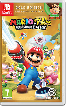 Mario + Rabbids: Kingdom Battle - Gold Edition