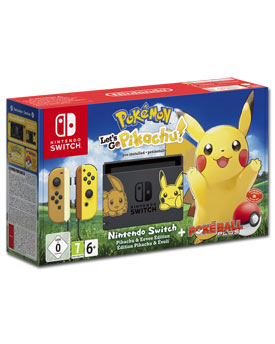 Nintendo Switch - Pokémon: Let's Go, Pikachu! Set