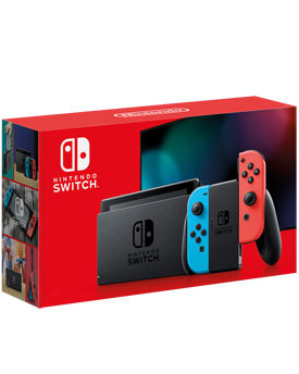 Nintendo Switch (2019) -Red/Blue-