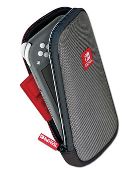 Switch Lite Slim Travel Case -Grey- (Bigben)