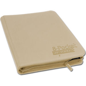 8-Pocket ZipFolio -Sand-