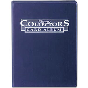 Trading Card 9er Collectors Album -Blue-
