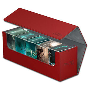 Arkhive Case 400+ inkl. 5 Deck Cases 80+ Court of the Dead -Red-