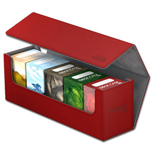 Arkhive Case 400+ inkl. 5 Deck Cases 80+ -Red-
