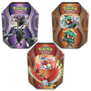 Pokémon Tin-Box Set 2017 (Necrozma / Marshadow / Ho-Oh)