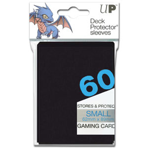 Card Sleeves Small -Black-