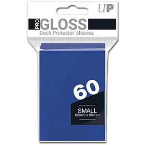 Card Sleeves Small -Blue-