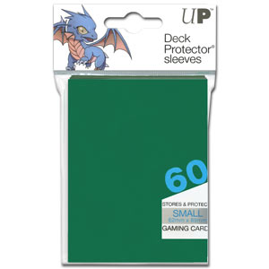 Card Sleeves Small -Green-