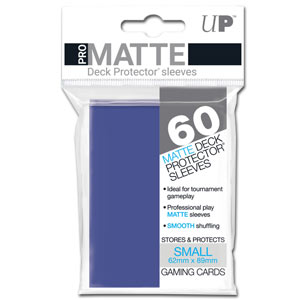 Card Sleeves Small Pro-Matte -Blue-