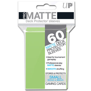 Card Sleeves Small Pro-Matte -Lime Green-