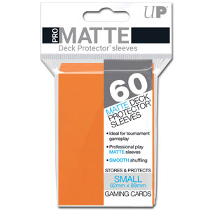 Card Sleeves Small Pro-Matte -Orange-