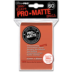 Card Sleeves Small Pro-Matte -Peach-