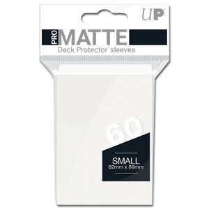 Card Sleeves Small Pro-Matte -White-