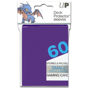Card Sleeves Small -Purple-