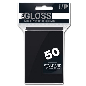 Card Sleeves Standard -Black-
