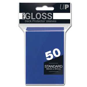 Card Sleeves Standard -Blue-