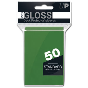 Card Sleeves Standard -Green-