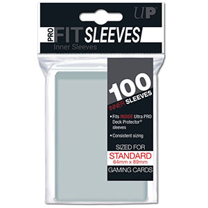 Card Sleeves Standard PRO-FIT -Clear-
